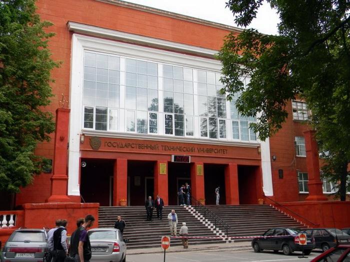 Главный вход в 6 корпус нижегородского государственного технического университета
